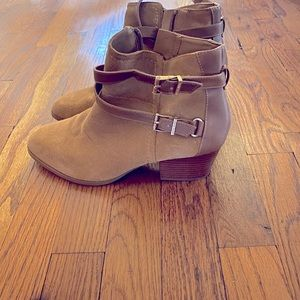Alex Marie Leather ankle booties